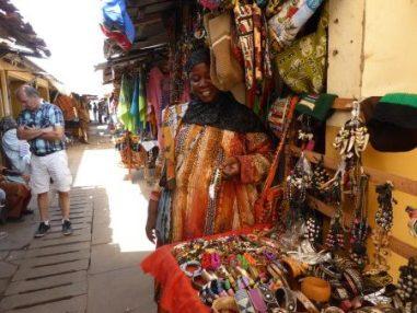 Albert markt in Gambia