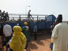 Ferry naar Banjul