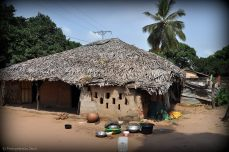 huis lokale bevolking in Gambia