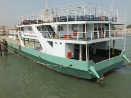 Ferry in Banjul.