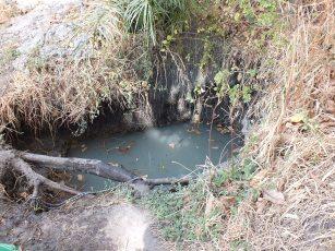 waterput die gebruikt wordt voor het bewerken van het land