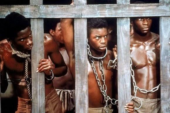 Slaven eiland in Gambia
